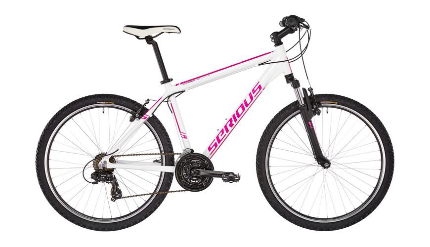 "Serious Rockville MTB Hardtail 26"" rosa/bianco"